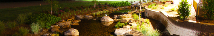 Landscape Architecture - Hardscape Design, Irrigation System Design - Landscape Lighting - Native Plant Selection