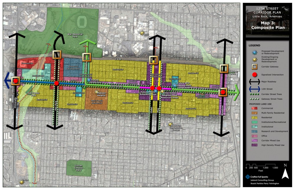 Urban Planning - 12th Street Corridor Revitalization Plan